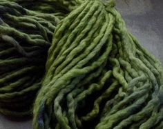 TREESONG ~ Hand dyed OSLO WOOL Chunky Yarn by appleoakfibreworks. Explore more products on http://appleoakfibreworks.etsy.com