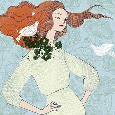Beautiful illustrations by @studioanjakroencke