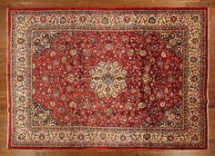 Mahal 10x13 Hand Knotted Oriental Wool Rug GT111