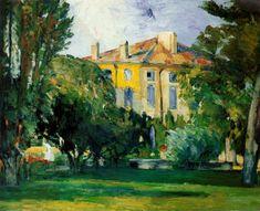 La Maison du Jas de Bouffan, 1876-78, Paul Cézanne