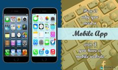 The steep rise of mobile app development has made the mobile apps a clear favorite over mobile website due to its multiple quality and usefulness. App Development, Ios App, Mobile App, Website, Mobile Applications