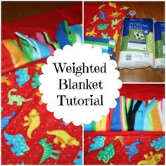 East Coast Mama: How to Make your Own Weighted Blanket ~ Tutorial