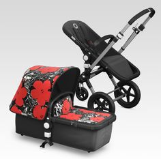 Andy Warhol Flowers edition Bugaboo Cameleon 3