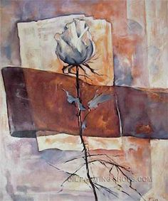 """Beautiful Classical Painting Flower Painting Ideas Rose, Size: 20"""" x 24"""", $83. Url: http://www.oilpaintingshops.com/beautiful-classical-painting-flower-painting-ideas-rose-2286.html"""