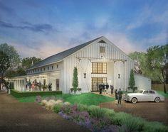 The Farmhouse White Barn Wedding Venue