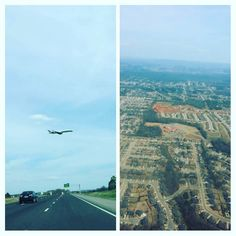 Hubby took a pic of my flight in midair while I took a pic of our home  DesignGenes is back home and ready to make more cool mugs!  #madisonal #huntsville #airplane #iloveflying #vacationisover #thehustleisreal #etsypreneur