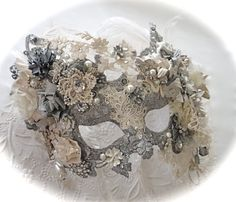 Victoria's Dream Mask Masquerade Ball Masks by Marcellefinery