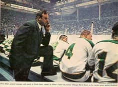 Vintage MN Hockey (@VintageMNHockey) | Twitter Minnesota North Stars, Hockey Coach, Virtual Museum, Put On, Nhl, Wren, History, Fictional Characters, Vintage
