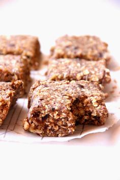 My Happy Place: raw banana nut bars