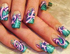 """""""graffiti"""" """"graffiti nail art"""" """"graffiti nails"""" """"graffiti design"""" """"nail art"""" """"nails"""" """"urban nails"""" """"memorial graffiti"""" """"rip graffiti"""" """"robin moses"""" graffiti nailz nail art arts how-to diy tutorial design Robin Moses, Ghetto Nail Designs, Nail Art Designs, Nails Design, Funky Nails, Cute Nails, French Nails, Galeries D'art D'ongles, School Nail Art"""