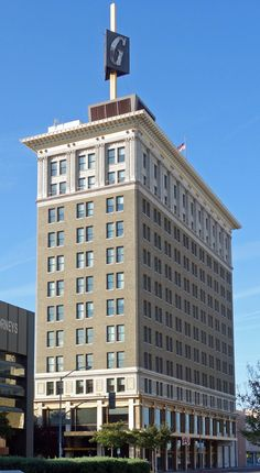 Mattei Building, Fulton Street, Fresno, California USA, constructed in 1920