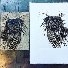 658 отметок «Нравится», 5 комментариев — The Printmakers' Showcase (@im_printed) в Instagram: «By @rachelmcw #rachelmcw • #printmaker #printmaking #otter #animalprint • Get featured! Use…»
