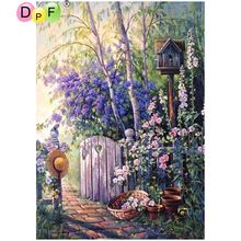 Initiative New Mosaic Full Laid Diamond Painting Embroidery Forest Woods Love Peacock Couple Horse Beads Cross Stitch Kit Painting Work Novel In Design;