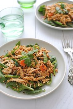 What's for dinner tonight? How about a @Catherine McCord Tex-Mex Chicken Quinoa Salad. YUM!