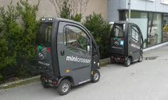 Electric vehicles for disabled people in Årdalstangen, Norway
