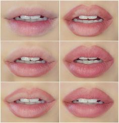 The no makeup look: natural looking pink lips #pinklipsnatural