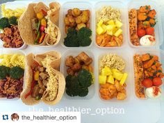 Getting it done!!! Awesome prep by @the_healthier_option today. Check out her page great dishes and preps; sometimes putting together 60 preps at once   #Repost @the_healthier_option When your meal prep is 100%    chilli lean mince  teriyaki steak burritos  garlic and herb potato and Turkey sausage bake  sweet chicken and pineapple  lemon and dill salmon. #mealprep #macros #mealprepsunday #mealprepping #nutrition #gymfood #fitnessfood #gym #workout #fitfam #gymlife #aesthetics #sunday…