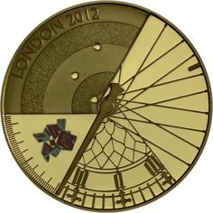 5 Pfund Gold London 2012: Offizielle Münze zu den Paralympics 2012 PP