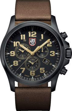 Luminox Watch Atacama Field Chronograph Alarm 1940 Series #2015-2016-sale #add-content #bezel-fixed #black-friday-special #bracelet-strap-leather #brand-luminox #case-depth-13-9mm #case-material-black-pvd #case-width-45mm #chronograph-yes #classic #date-yes #delivery-timescale-1-2-weeks #dial-colour-black #gender-mens #movement-quartz-battery #new-product-yes #official-stockist-for-luminox-watches #packaging-luminox-watch-packaging #sale-item-yes #style-dress #subcat-land…