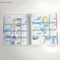 This weeks layout in my @erincondren horizontal life planner complete! #erincondren #ec #lifeplanner #erincondrenlifeplanner