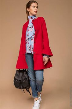 Boho Fashion, Womens Fashion, Cape Coat, Out Of Style, Mantel, Nice Dresses, Going Out, Blazers, Duster Coat