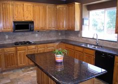 pictures of tan brown granite countertops - Yahoo Search Results