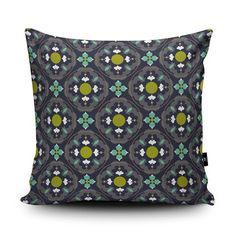Flower Power 2 Cushion by Sophie Honeybelle