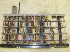 Historic 1950s IBM Mainframe Computer Pluggable Unit With Vacuum Tubes #2