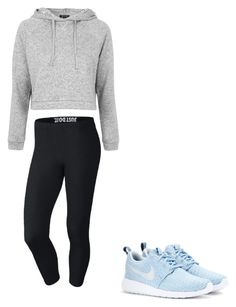 """Just Do It."" by marrasco123 ❤ liked on Polyvore featuring Topshop and NIKE"