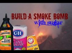HOW TO MAKE A SMOKE BOMB WITH SUGAR!