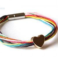 Serce w kolorach, bransoletki - inne
