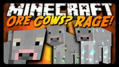 """Minecraft: WHY DO """"ORE COWS"""" EXIST? (Silly Mod Review)"""