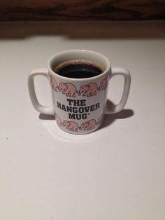 A hangover mug | #TreatYoSelf | #ParksandRec