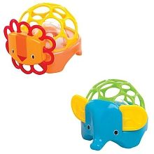 This Two-Piece Oball Rollie Rattles Set is perfect! Baby Toys, Kids Toys, Baby Calm, Rubber Duck, Baby Shower Gifts, New Baby Products, Infant, Nursery, Gem