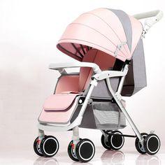Bluechildhood Lightweight Baby Stroller Two-Way Push Travelling Pram B – beebabystore Baby Girl Strollers, Toddler Stroller, Baby Prams, Kids Playpen, Baby Trolley, Travel Systems For Baby, Baby Stroller Accessories, Baby Workout, Baby Carriage