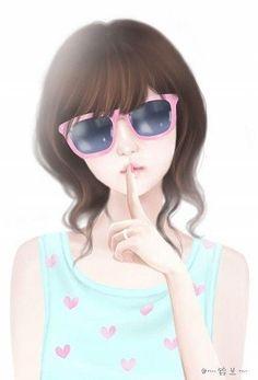 (☌ᴗ☌ )                                                              ★Enakei with glasses