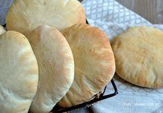 Nem opskrift på luftige hjemmebagte pitabrød…