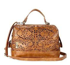 laser Cut Camille Handbag