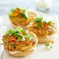 BHGs Newest Recipes:Thai-Style Tuna Burger Recipe