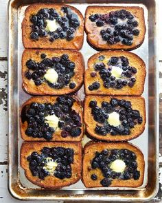 Baked Blueberry French Toast via Sweet Paul | Safeway