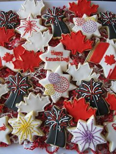 Happy Canada Day! July 1st. Had to sneak this in before the 4th of July festivities!