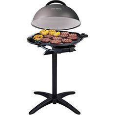 The George Foreman Indoor Outdoor Electric Grill is perfect for backyard cookouts or family dinners at the table. Make up to on the more durable non-stick ceramic surface. The Indoor Outdoor Grill is perfect for apartments patios and other Indoor Outdoor Grill, Outdoor Electric Grill, Outdoor Cooking, Electric Grills, Electric Bbq, Grill Stand, George Foreman Grill, Backyard Cookout, Backyard Patio