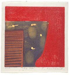 Category: Work on Paul Furneaux: printmaking artist Mono Print, Red Sea, Wood Engraving, Collage Art, Watercolors, Printmaking, Screen Printing, Abstract Art, My Arts