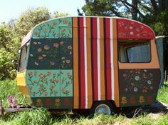 Alice Carswell Trailer / Caravan 2007. I love this... looks like wallpaper!