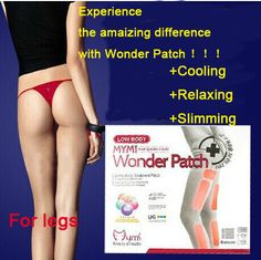 Mymi Wonder Slim Patch For Legs And Arm Slimming Products To Lose Weight And Burn Fat Cellulite Feet Care Slim Patch Weight Loss