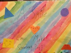 Abbie McManus - Marion Street School. 4th Grade. Shared A Smile Kite, Campaign, Pure Products, Street, School, Day, How To Make, Painting, Dragons