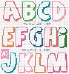 Cross Stitch Letters, Cross Stitch Baby, Sorority Letters, Monogram Letters, Cross Stitching, Cross Stitch Embroidery, Cross Stitch Designs, Stitch Patterns, Modele Pixel