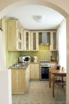 81 best Light Wood Kitchens images on Pinterest | Wood kitchen ...