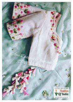Hand Work Blouse Design, Simple Blouse Designs, Silk Saree Blouse Designs, Stylish Blouse Design, Bridal Blouse Designs, Choli Designs, Blouse Patterns, Kurti, Salwar Kameez