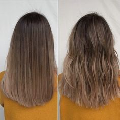 Golden Blonde Balayage for Straight Hair - Honey Blonde Hair Inspiration - The Trending Hairstyle Brown Hair Balayage, Brown Blonde Hair, Brown Hair With Highlights, Light Brown Hair, Hair Color Balayage, Dark Hair, Brunette Highlights, Color Highlights, Blonde Brunette Hair